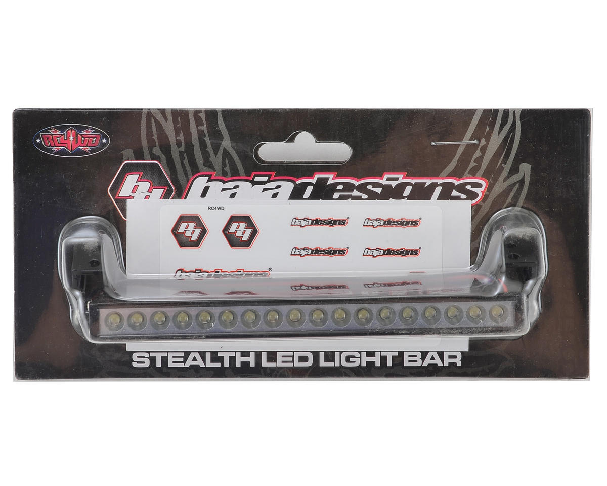 RC4WD 1/10 Baja Designs S8 Stealth LED Light Bar (120mm)
