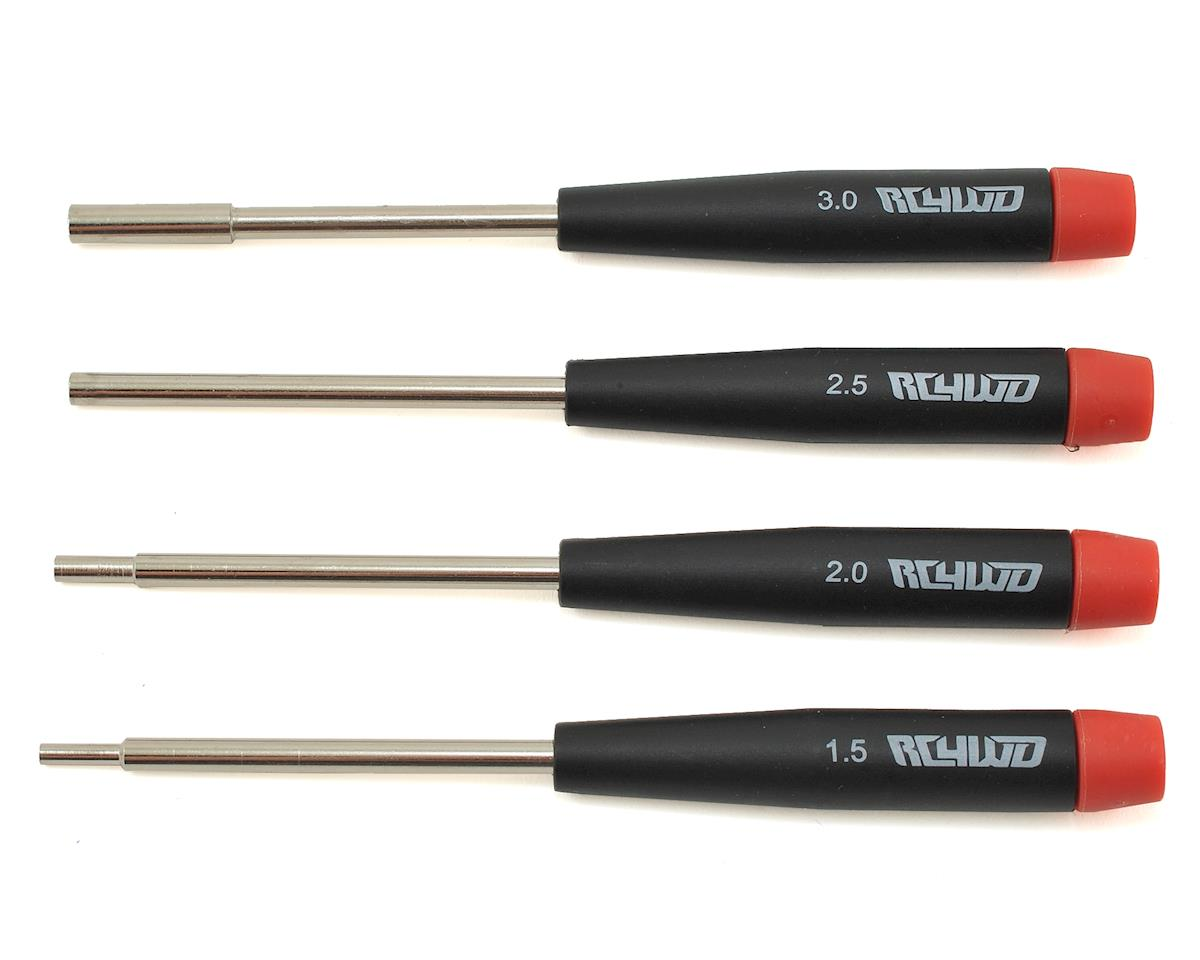 Precision Metric Hex/Nut Driver Set (4) by RC4WD