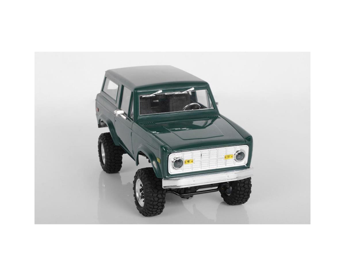 RC4WD 1/18 Gelande II RTR Scale Mini Crawler w/Black Jack Body Set