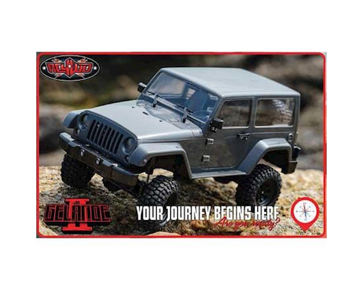 1/18 Gelande II RTR Scale Mini Crawler w/Black Rock Body Set by RC4WD