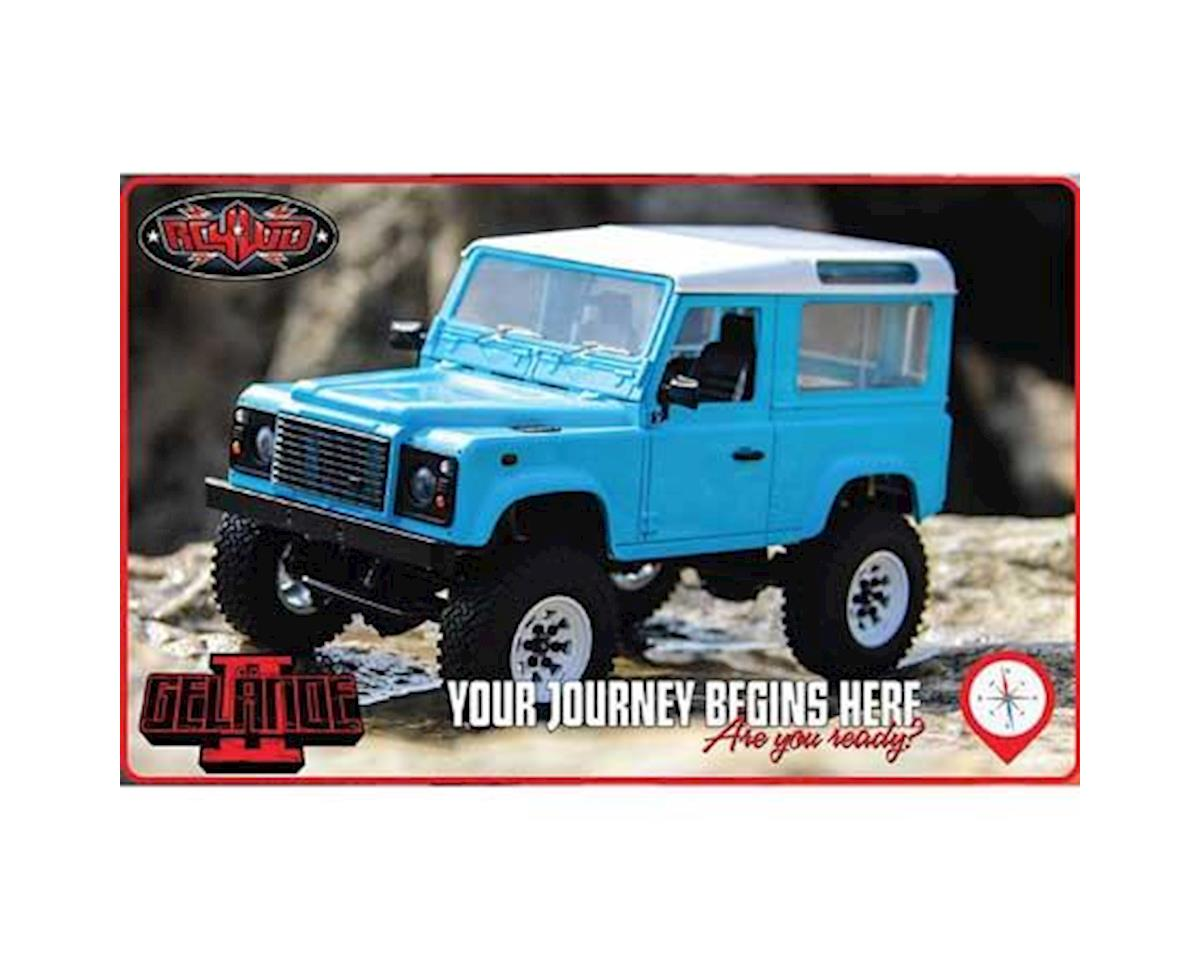 1/18 Gelande II RTR Scale Mini Crawler w/D90 Body Set (Blue) by RC4WD