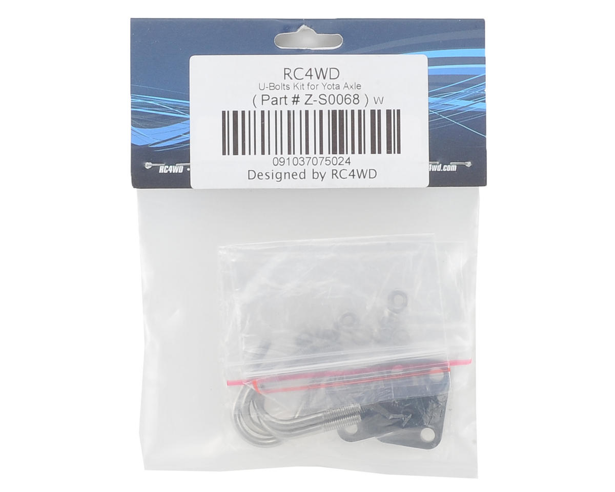 RC4WD Yota Axle U-Bolt Kit