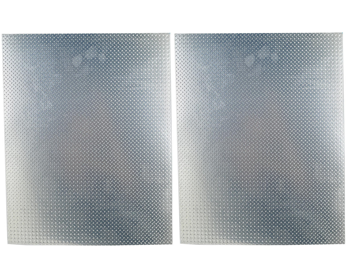 RC4WD Scale Aluminum Diamond Plate Sheet (2)
