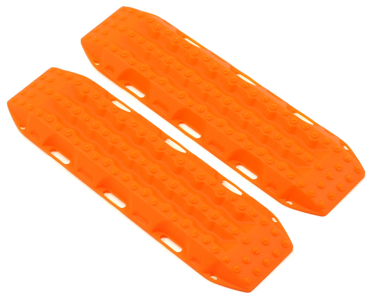 MAXTRAX 1/10 Vehicle Extraction & Recovery Boards (2) (Orange) by RC4WD