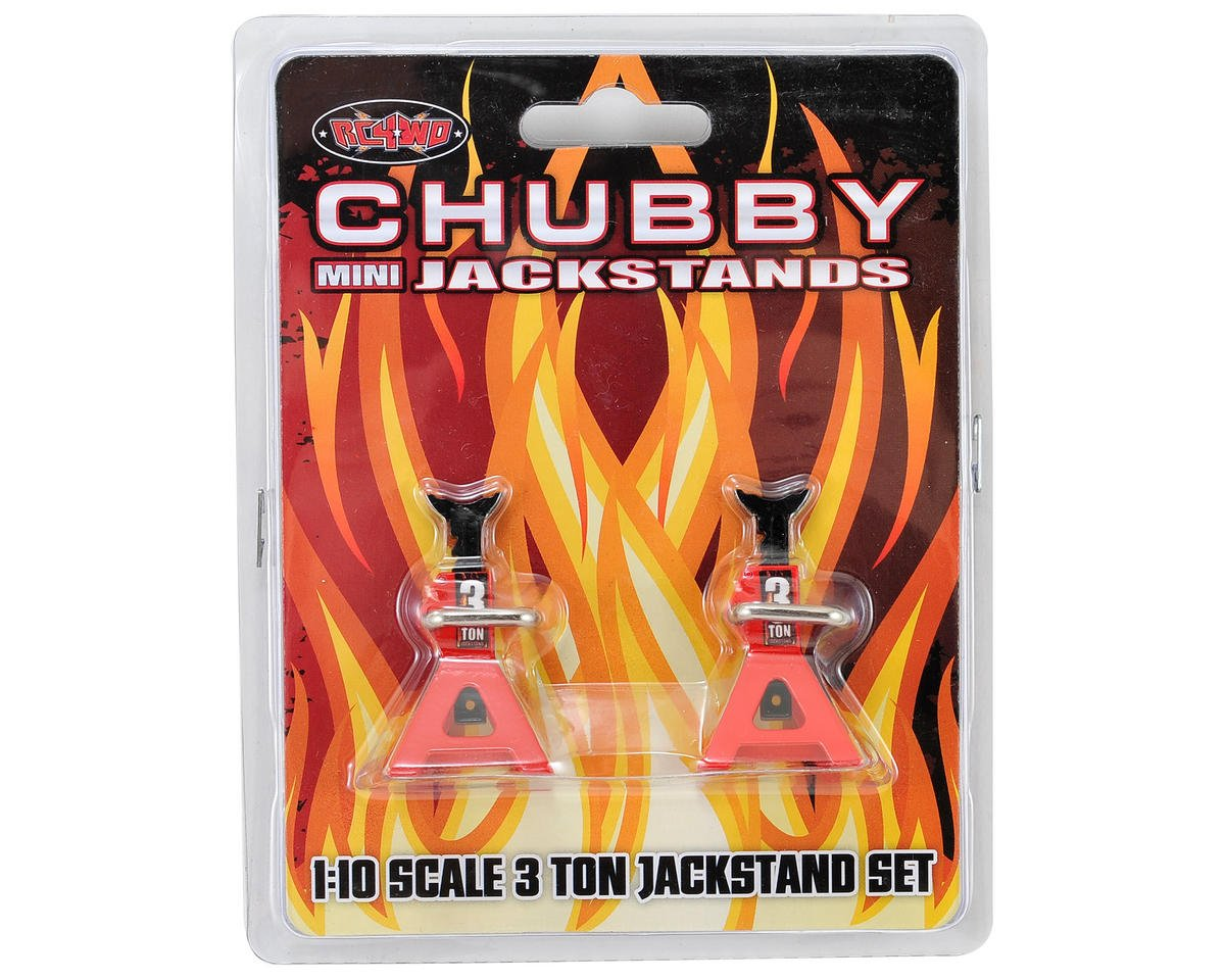 Chubby Mini 3 TON Scale Jack Stands by RC4WD