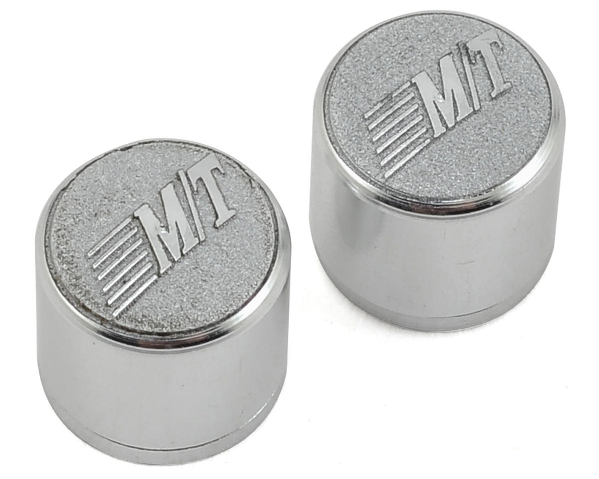 Mickey Thompson Classic Lock Wheel Center Caps (2) by RC4WD