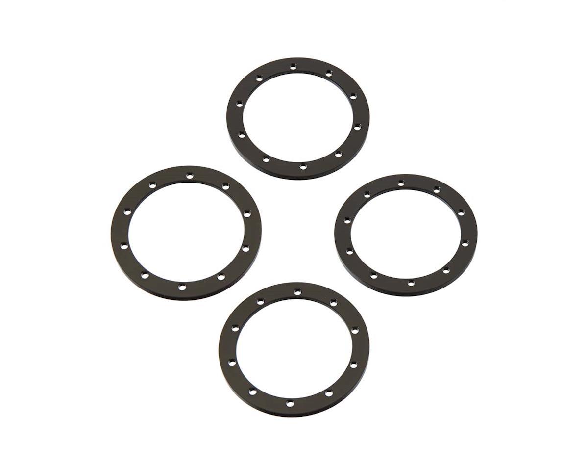 Black 1.9 Universal Beadlock Rings (4) by RC4WD