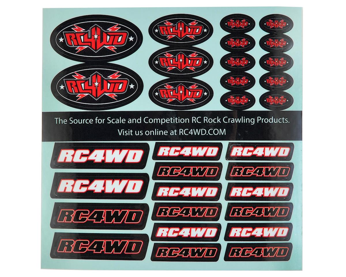 RC4WD Small Decal Sheet