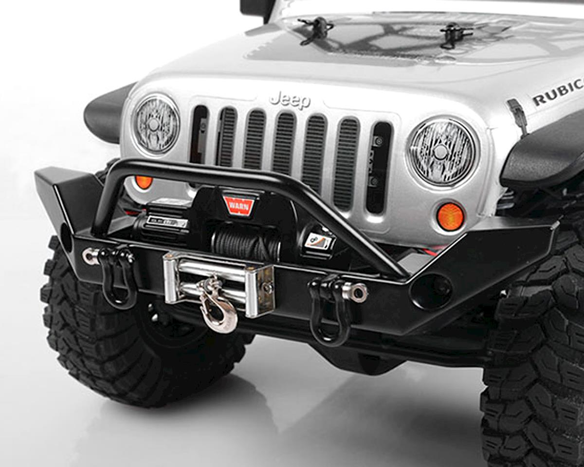 SCX10 Jeep Rock Hard 4x4 Full Width Front Bumper by RC4WD