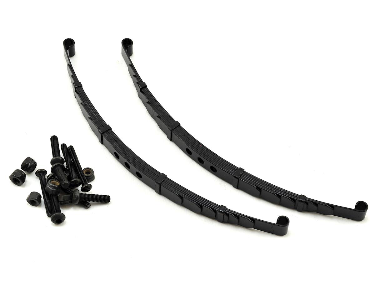 RC4WD Trail Finder 2 & Tamiya Bruiser Super Scale Steel Leaf Springs