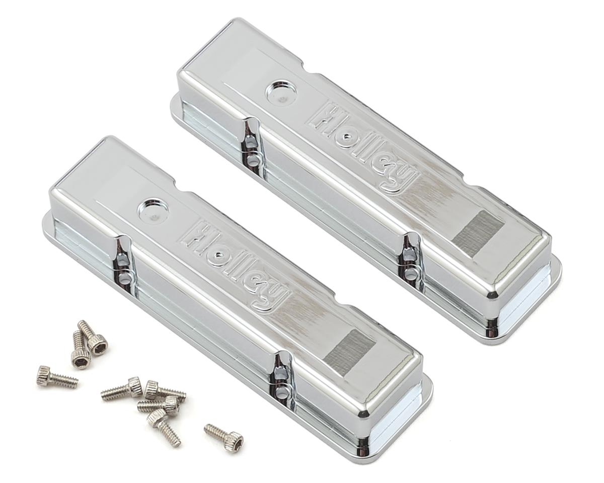 RC4WD V8 Engine Holley Chrome Valve Covers