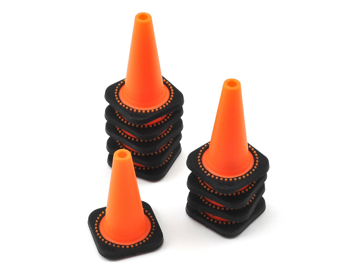 1/10 Size Traffic Cones (10) by RC4WD