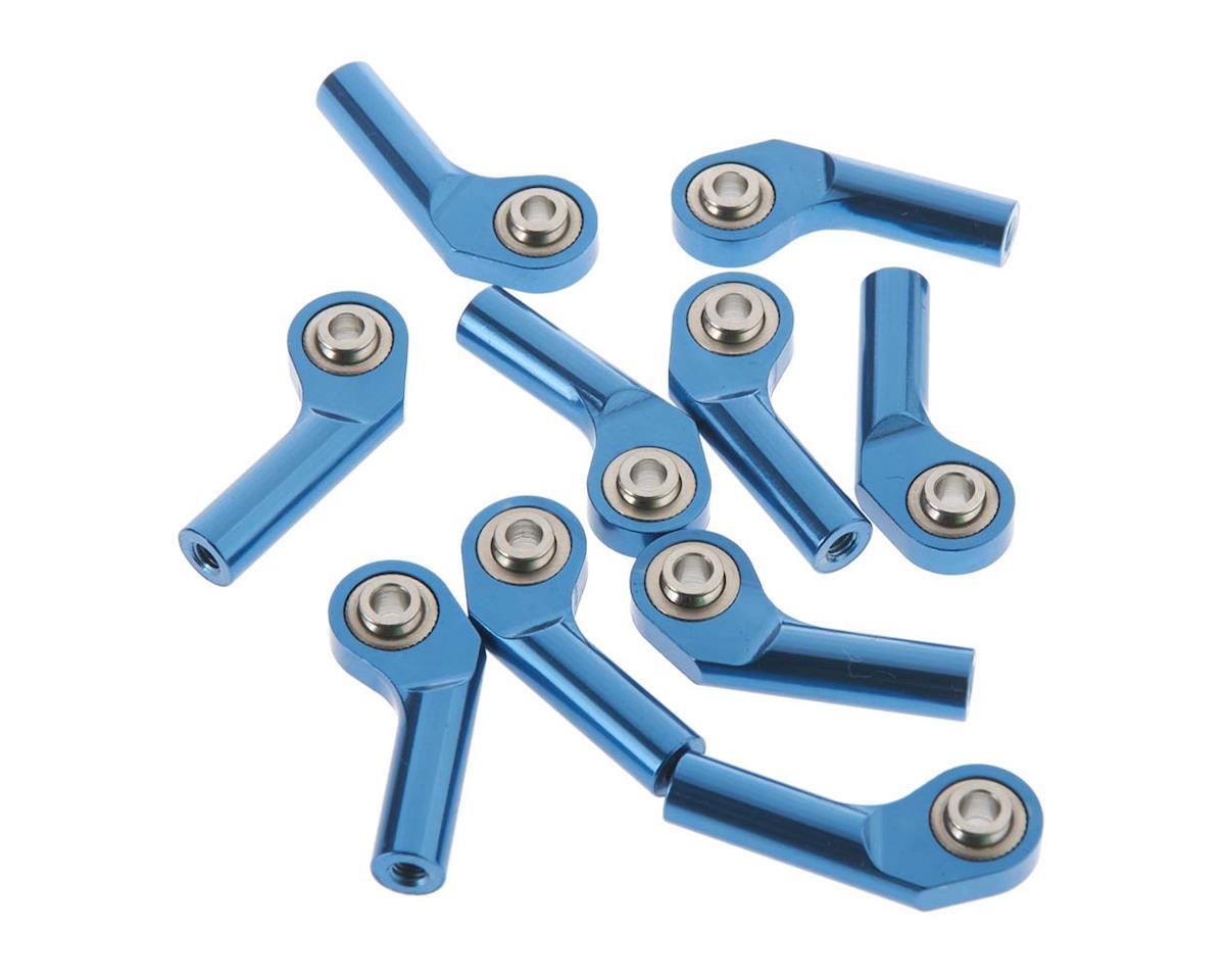 RC4WD Ext Offset Long Aluminum Rod End M3 Blue (10)