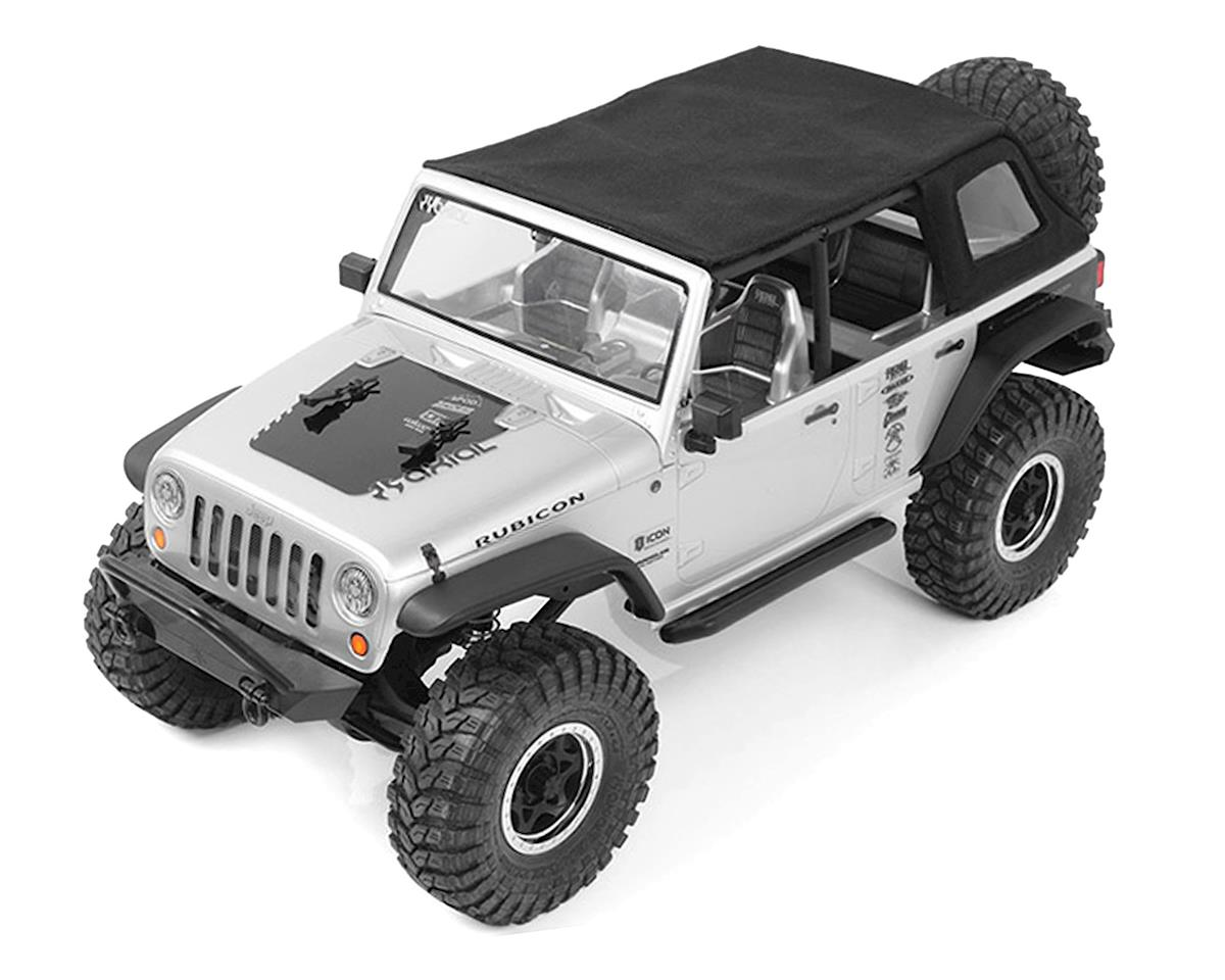 RC4WD Axial Jeep Wrangler Rear Slant Soft Top (Back)