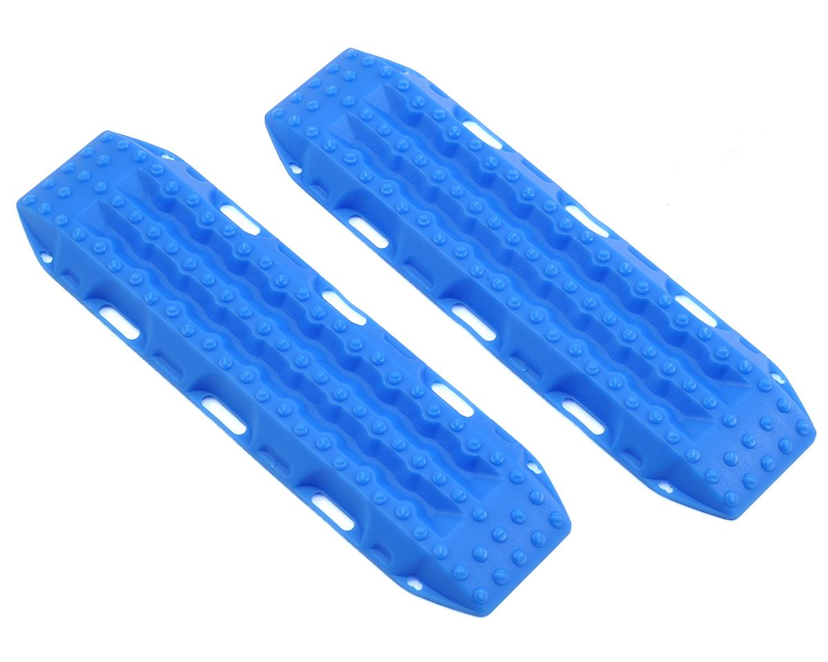 MAXTRAX 1/10 Vehicle Extraction & Recovery Boards (2) (Blue) by RC4WD
