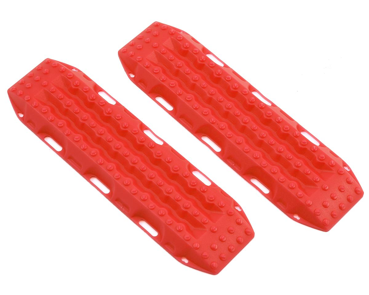 RC4WD MAXTRAX 1/10 Vehicle Extraction & Recovery Boards (2) (Red)