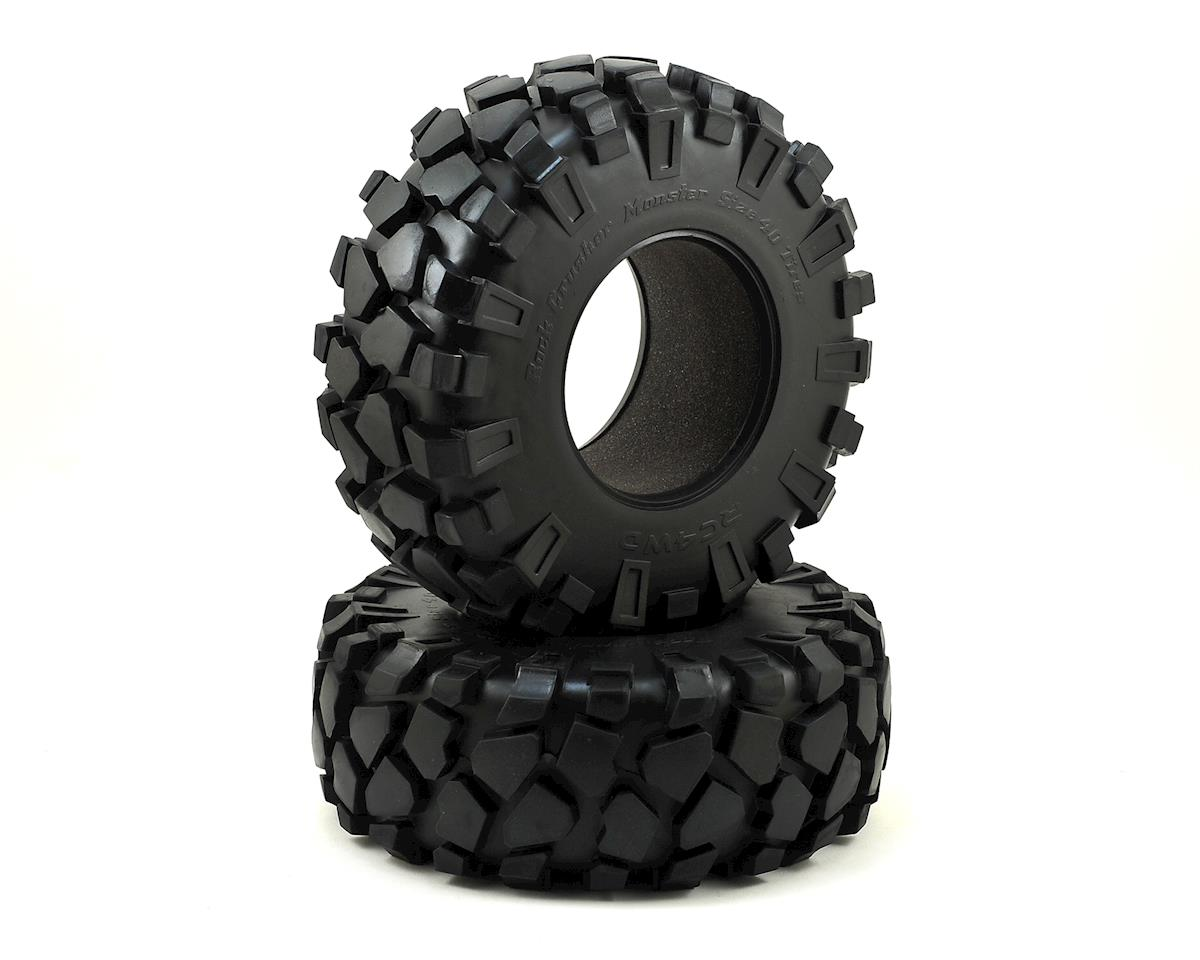 "Rock Crusher Monster 40 Series 3.8"" Tires (2) (X4) by RC4WD"