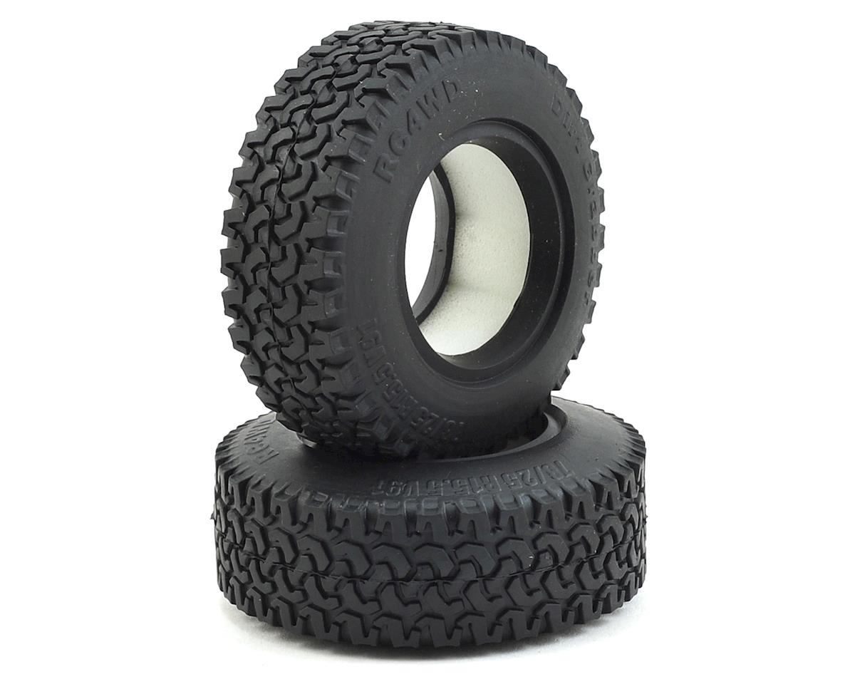 "Dirt Grabber 1.55"" All Terrain Tires by RC4WD"
