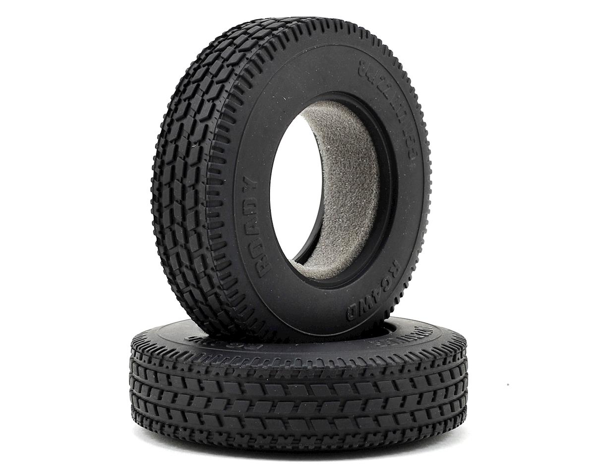 "RC4WD Roady 1.7"" 1/14 Semi Truck Tires"