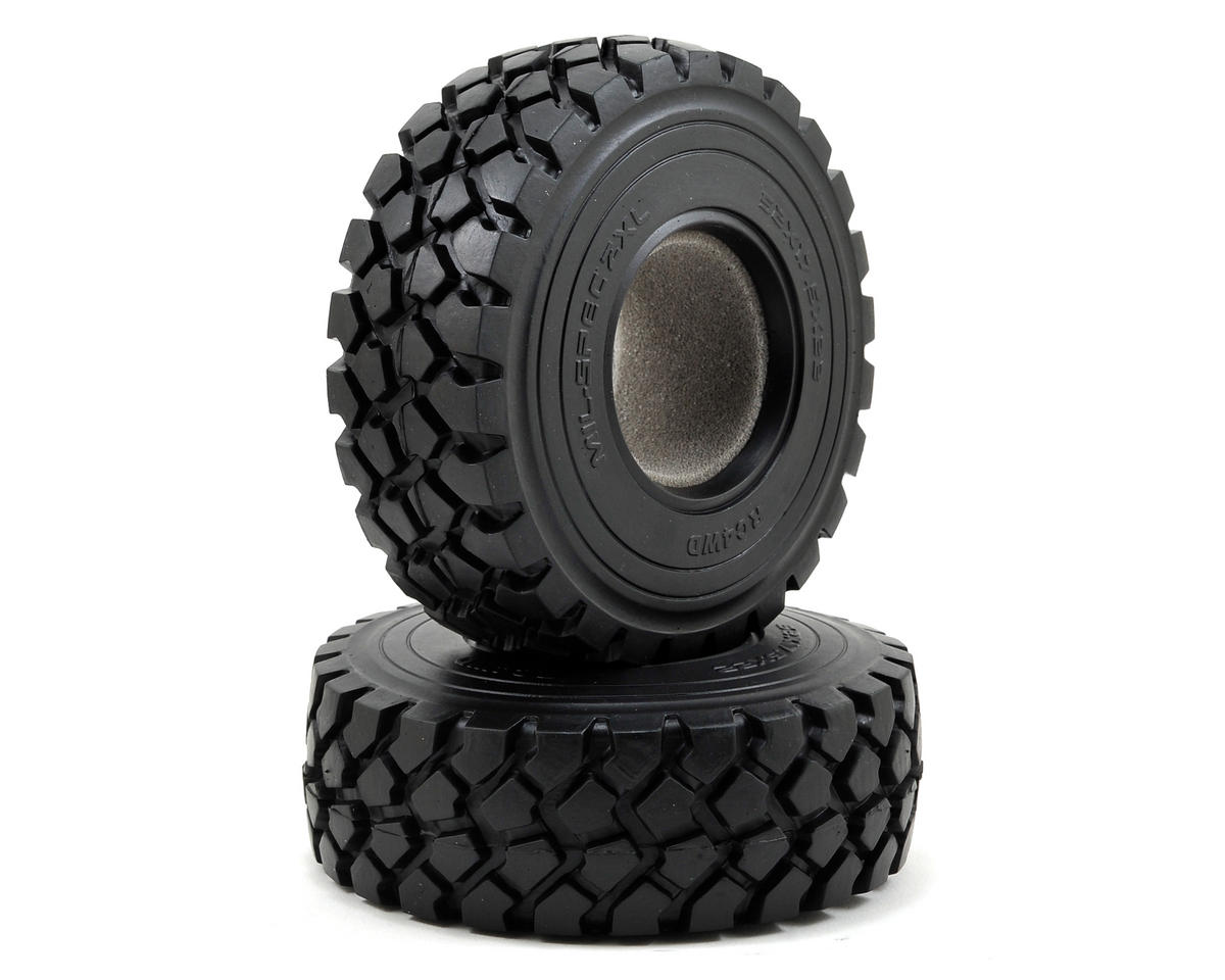 "Mil-Spec ZXL 2.2"" Scale Military Tires (2) (X4) by RC4WD"