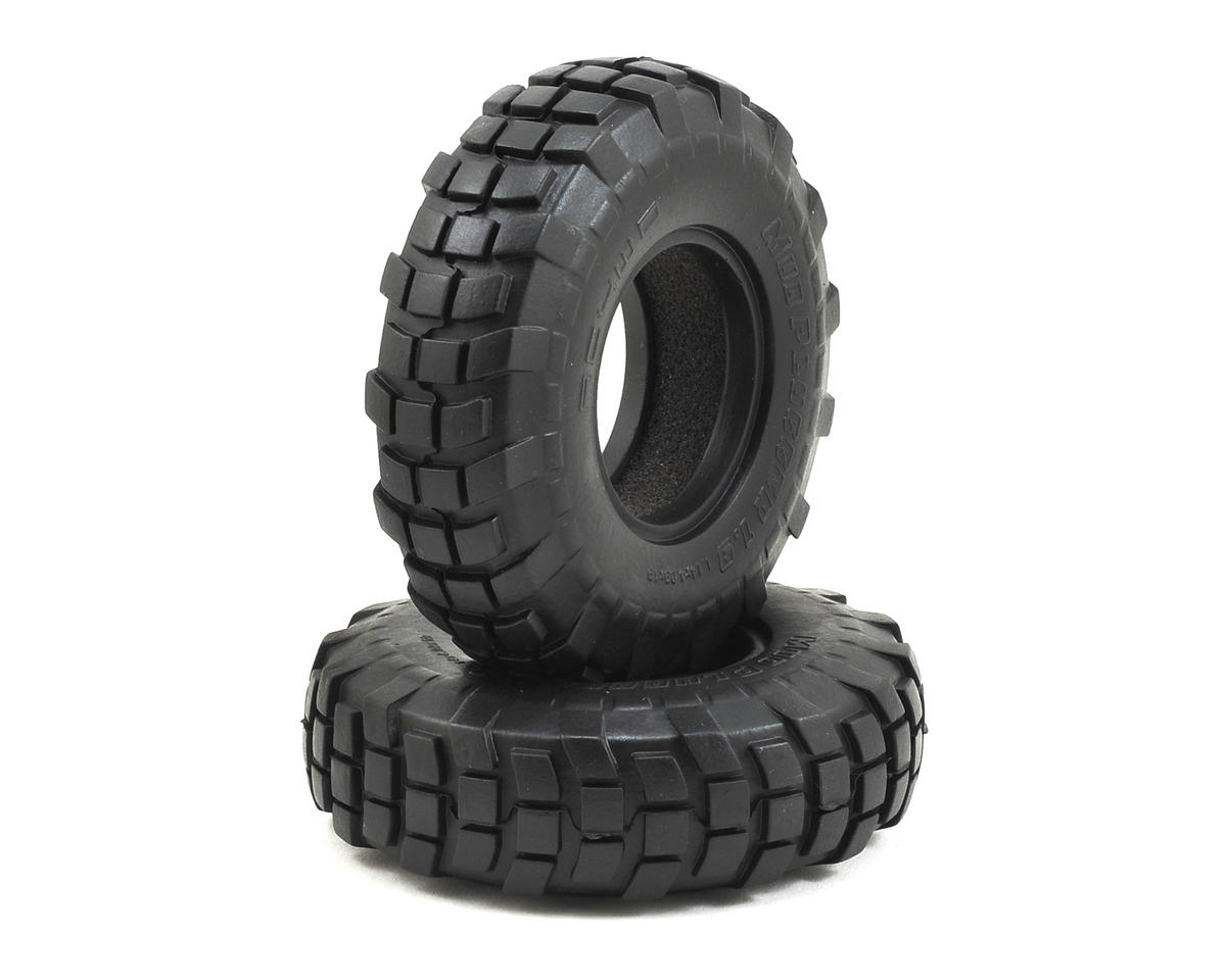 "RC4WD Mud Plugger 1.9"" Scale Rock Crawler Tires (2)"
