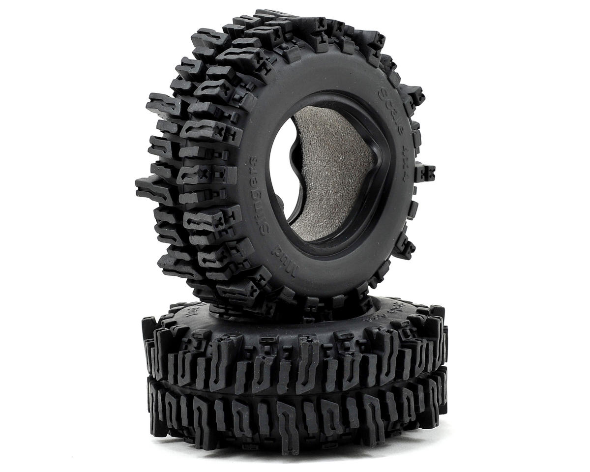 "Mud Slingers 1.9"" Rock Crawler Tires (2) by RC4WD"