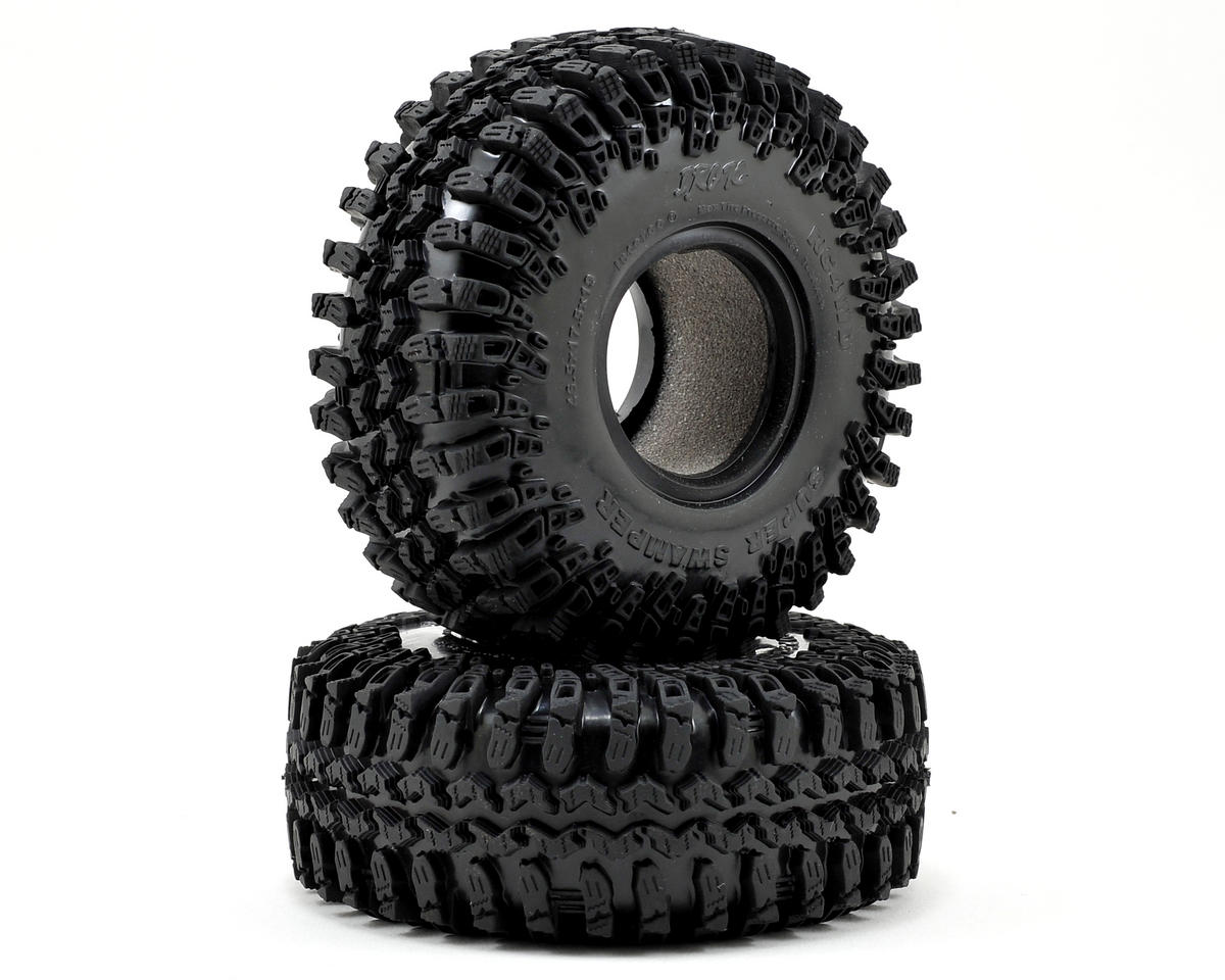 "RC4WD Interco IROK Super Swamper 1.9"" Scale Rock Crawler Tires (2) (X2)"