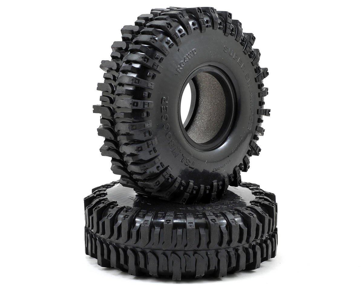 "RC4WD Interco Super Swamper TSL/Bogger 2.2"" Scale Rock Crawler Tires (2) (X2)"