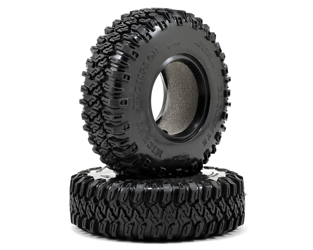 "RC4WD Mickey Thompson Baja MTZ 1.9"" Scale Rock Crawler Tires (2) (X2)"
