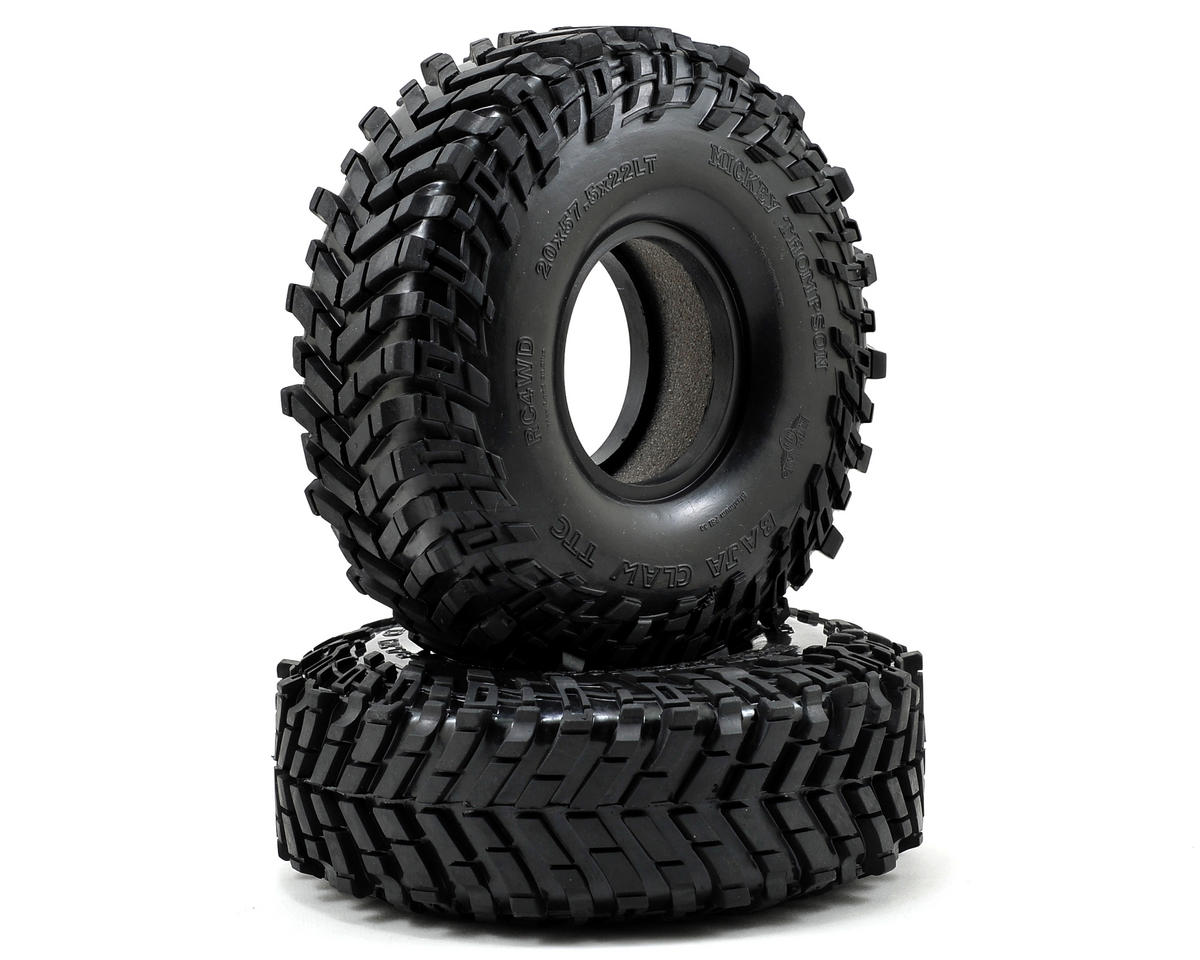 "RC4WD Mickey Thompson Baja Claw TTC 2.2"" Scale Rock Crawler Tires (2) (X2)"