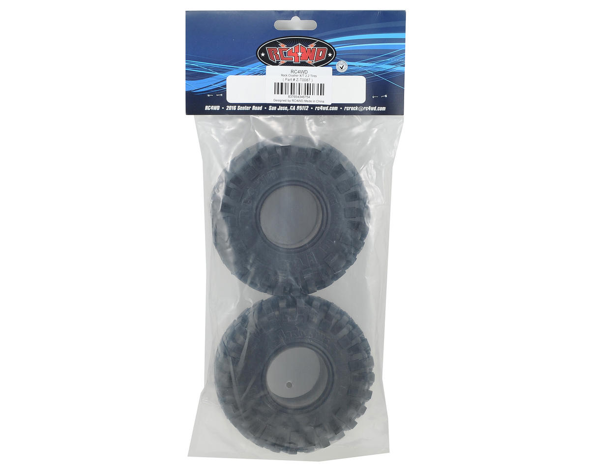 "RC4WD Rock Crusher X/T 2.2"" Rock Crawler Tires (2) (X3)"