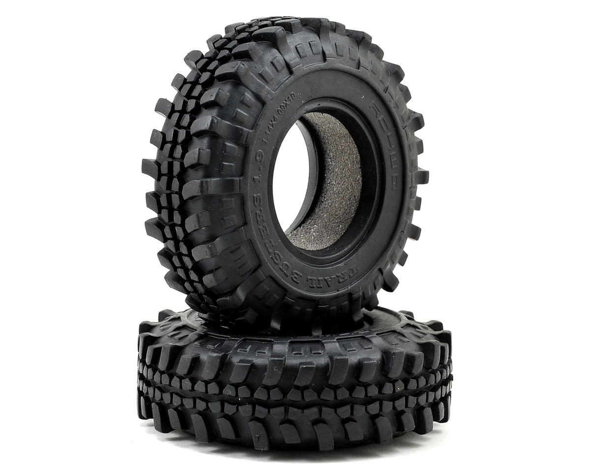 "Trail Buster 1.9"" Scale Rock Crawler Tires (2) (X3) by RC4WD"