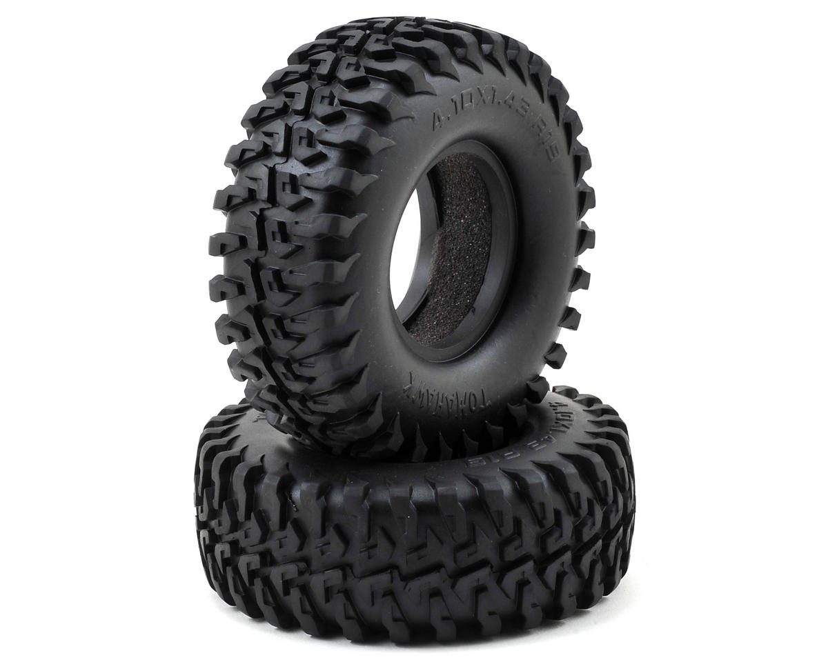 "Tomahawk 1.9"" Scale Crawler Tires (2) by RC4WD"