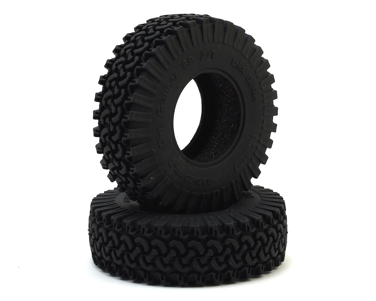 "Dirt Grabber A/T Brick Edition 1.2"" Scale Tire (2) by RC4WD"