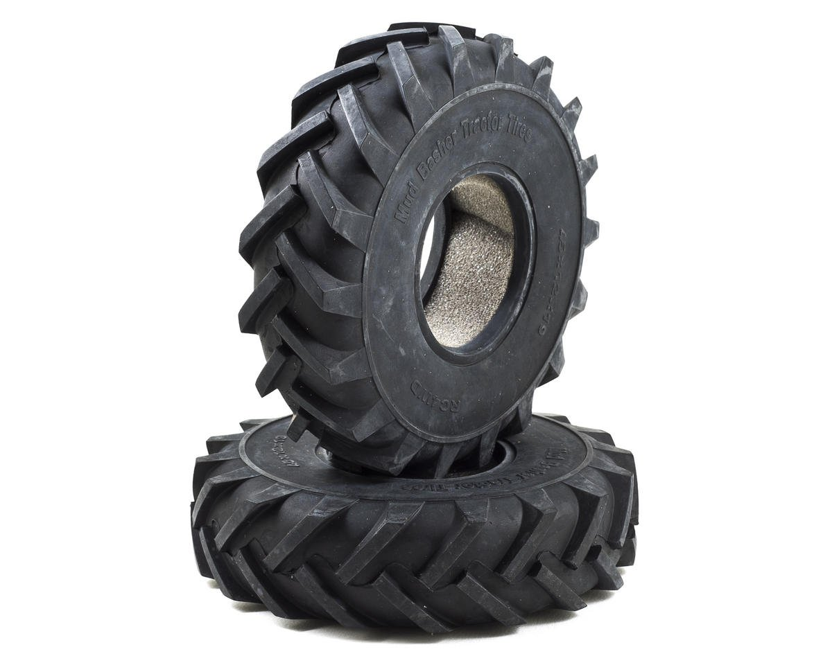 "RC4WD Mud Basher 1.9"" Scale Crawler Tractor Tires (2) (X4)"