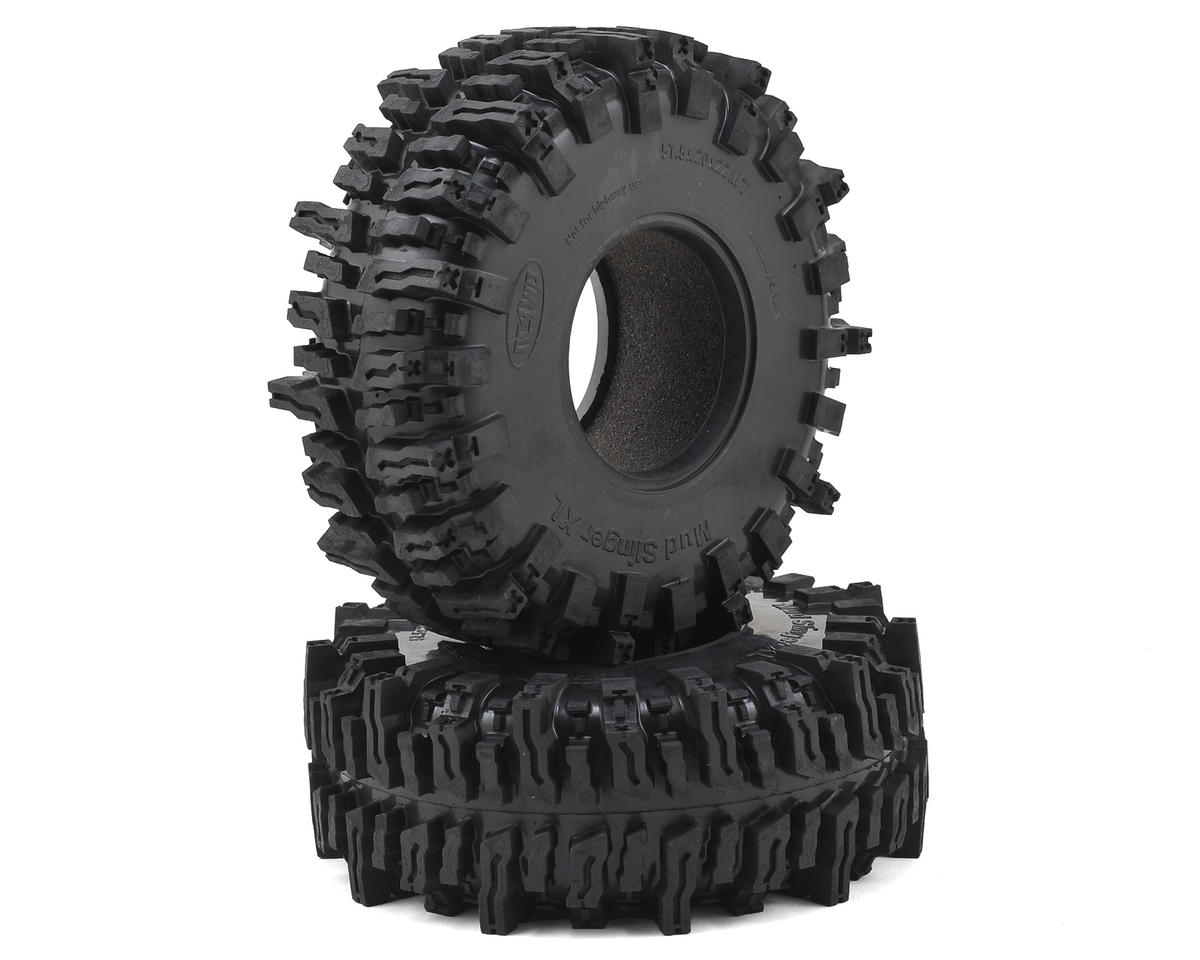 "Mud Slinger 2 XL 2.2"" Scale Crawler Tires (2) by RC4WD"