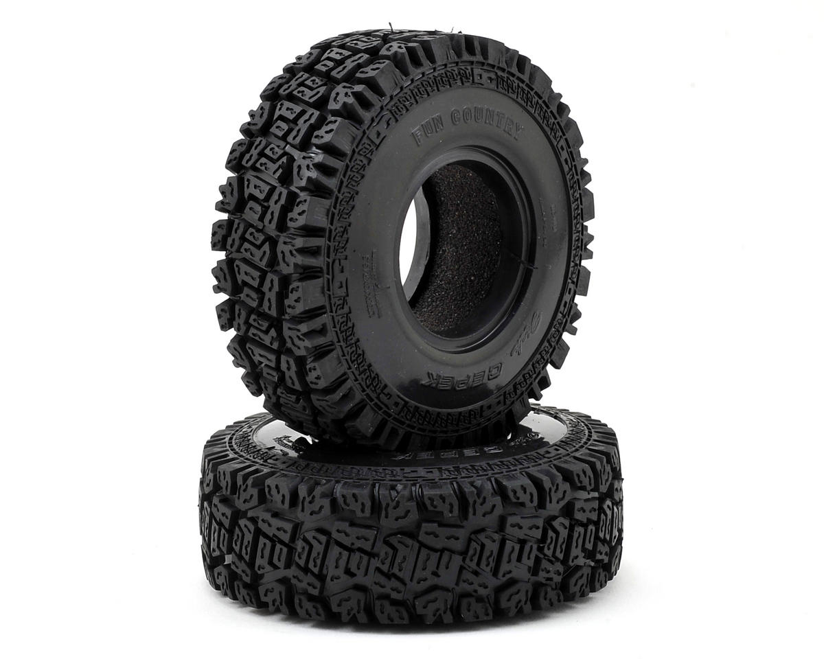 "RC4WD Dick Cepek Fun Country 1.55"" Scale Crawler Tire (2) (X2 SS)"