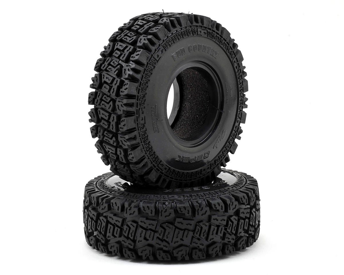 "Dick Cepek Fun Country 1.55"" Scale Crawler Tire (2) (X2 SS) by RC4WD"