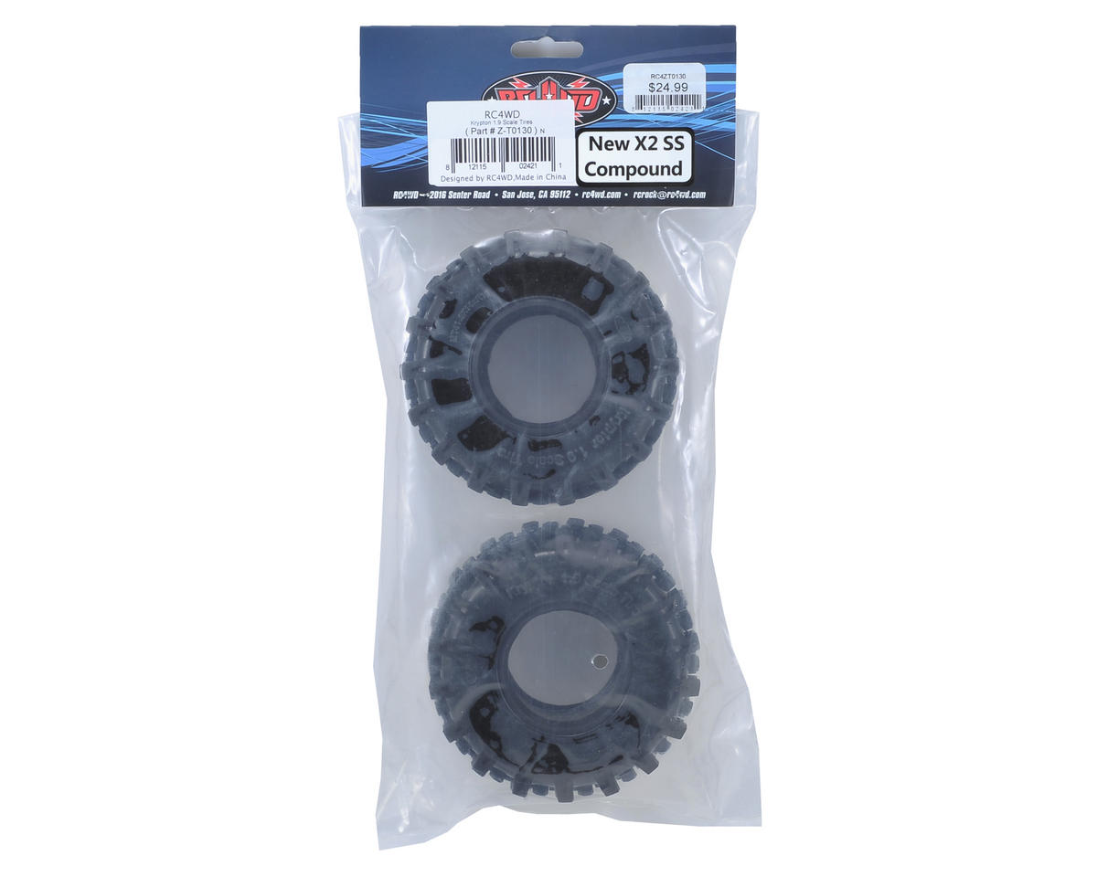 "RC4WD Krypton 1.9"" Scale Crawler Tires (2) (X2 SS)"