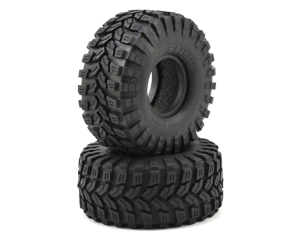 """Scrambler"" 1.55"" Scale Rock Crawler Tires (2) by RC4WD"