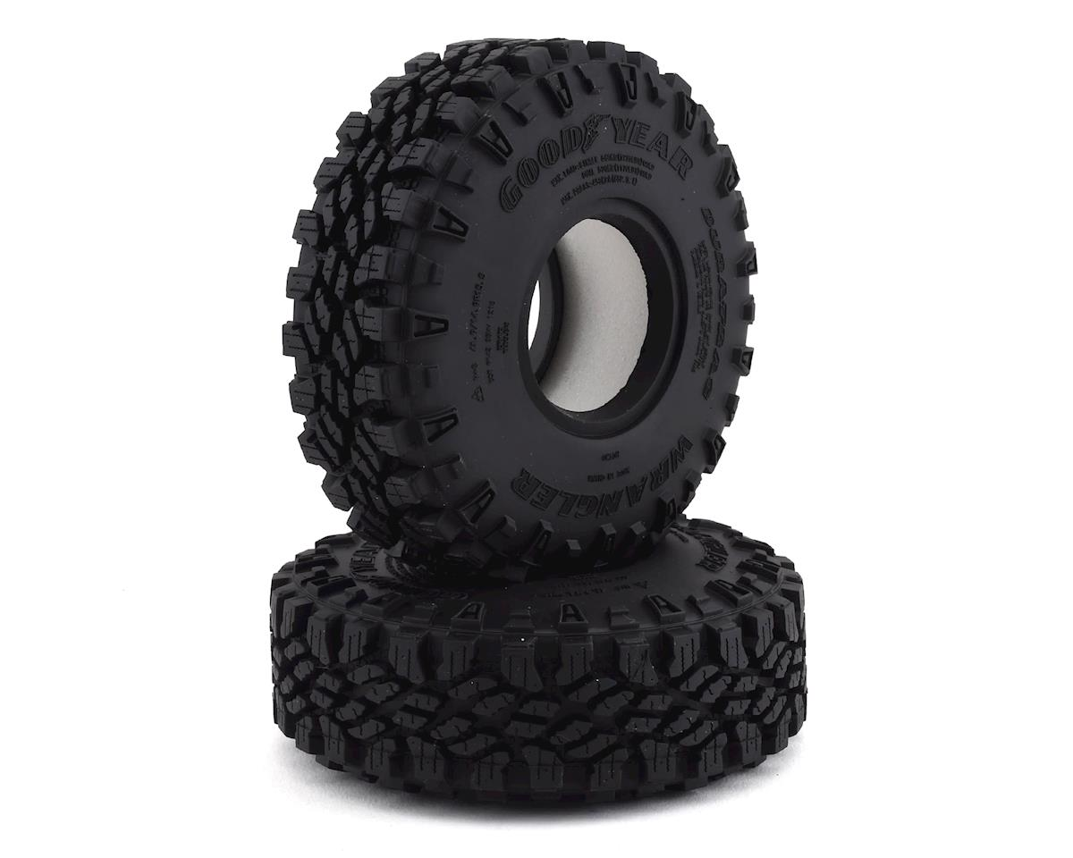 "RC4WD Goodyear Wrangler Duratrac 1.55"" Scale Rock Crawler Tires (2) (X2S3)"