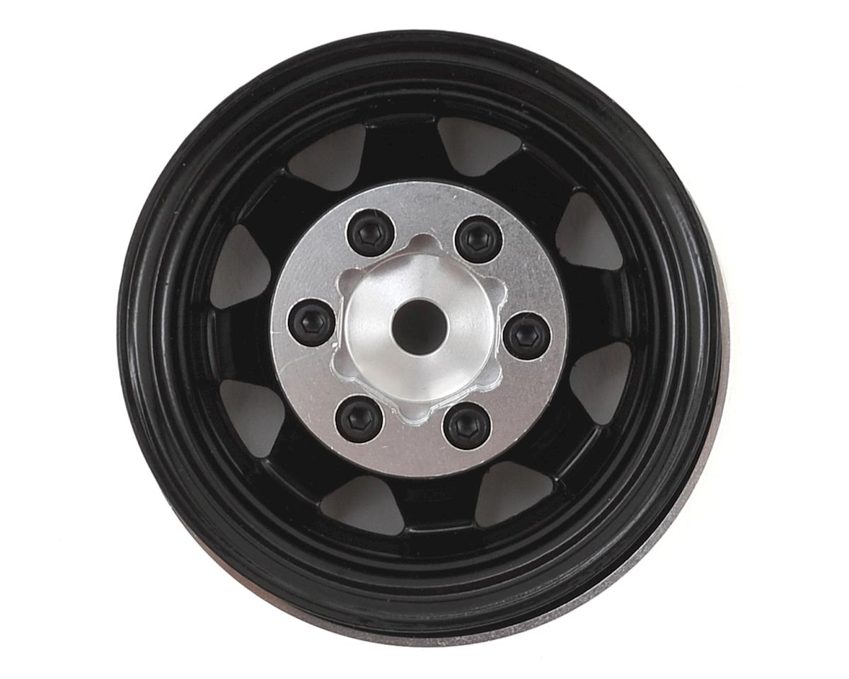 "RC4WD Stamped Steel 1.55"" Beadlock Wheel (Black)"