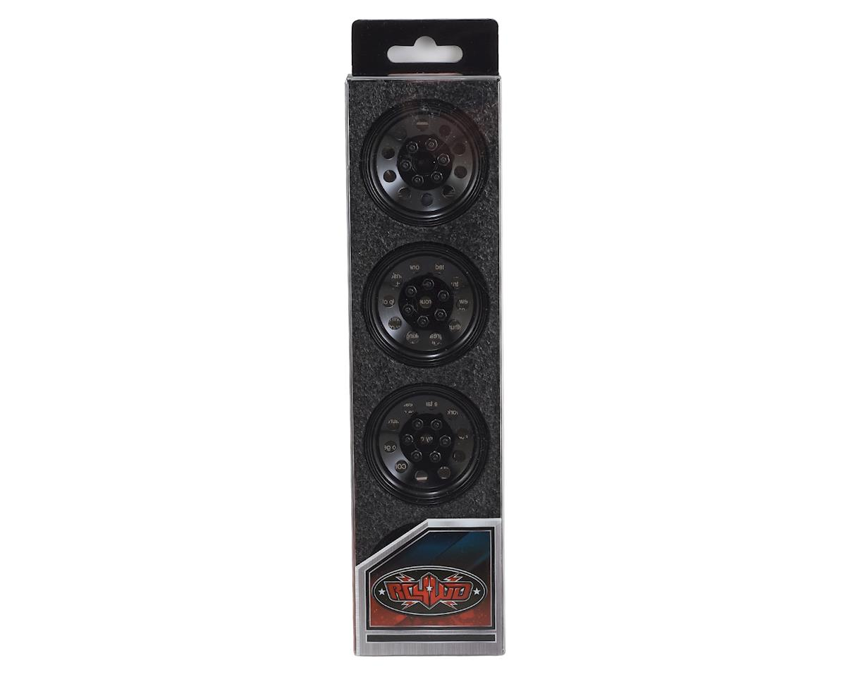 "RC4WD Pro10 1.9"" Steel Stamped Beadlock Wheel (Black)"
