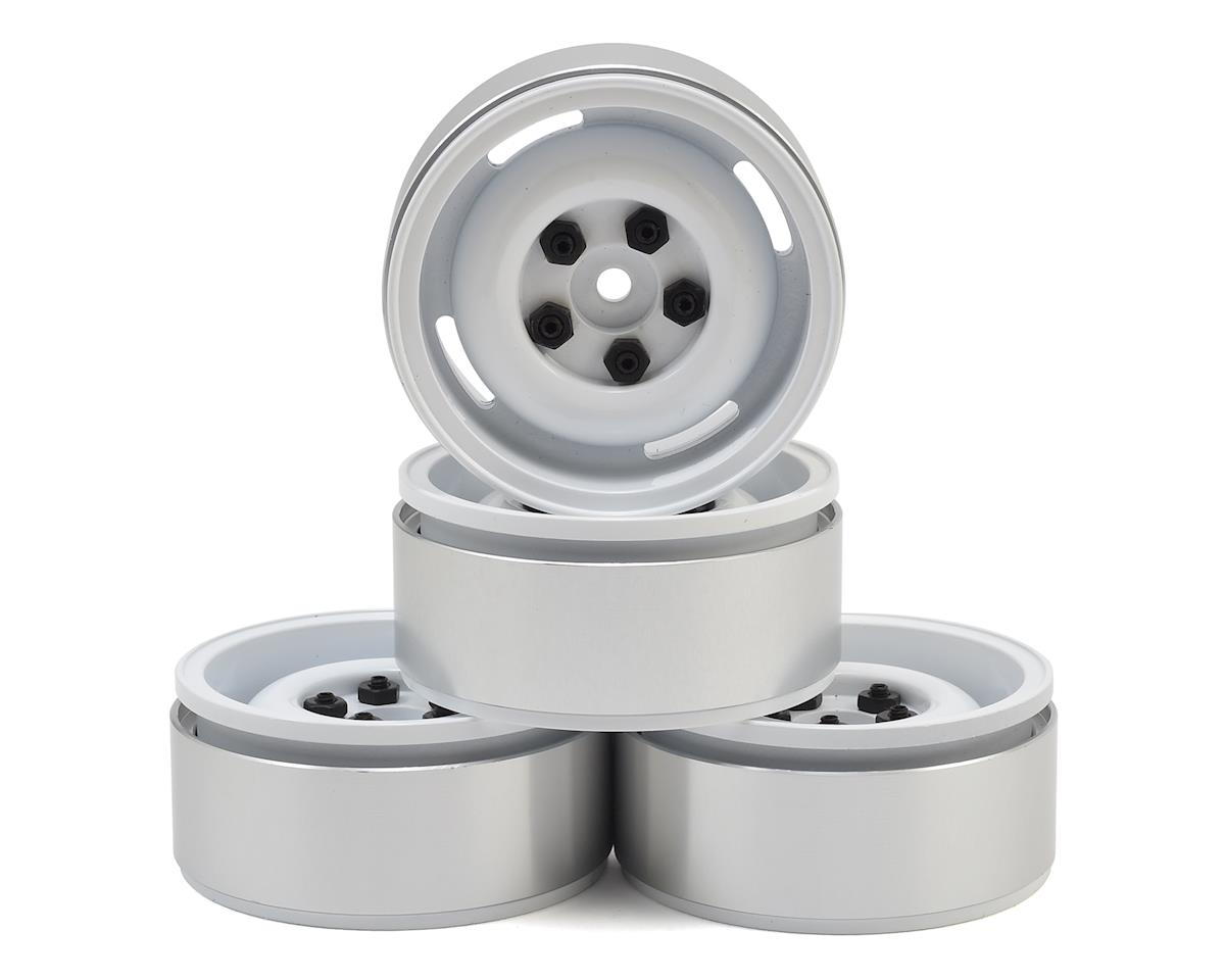 "RC4WD Landies 1.9"" Internal Beadlock Wheels (4) (White)"