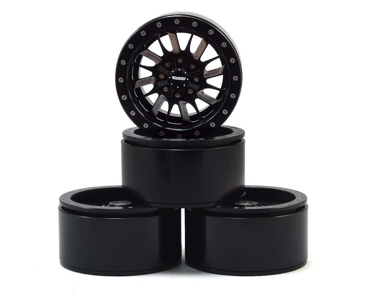 "RC4WD Enforcer 1.9"" Beadlock Wheel (Black) (4) (Vaterra Ascender)"