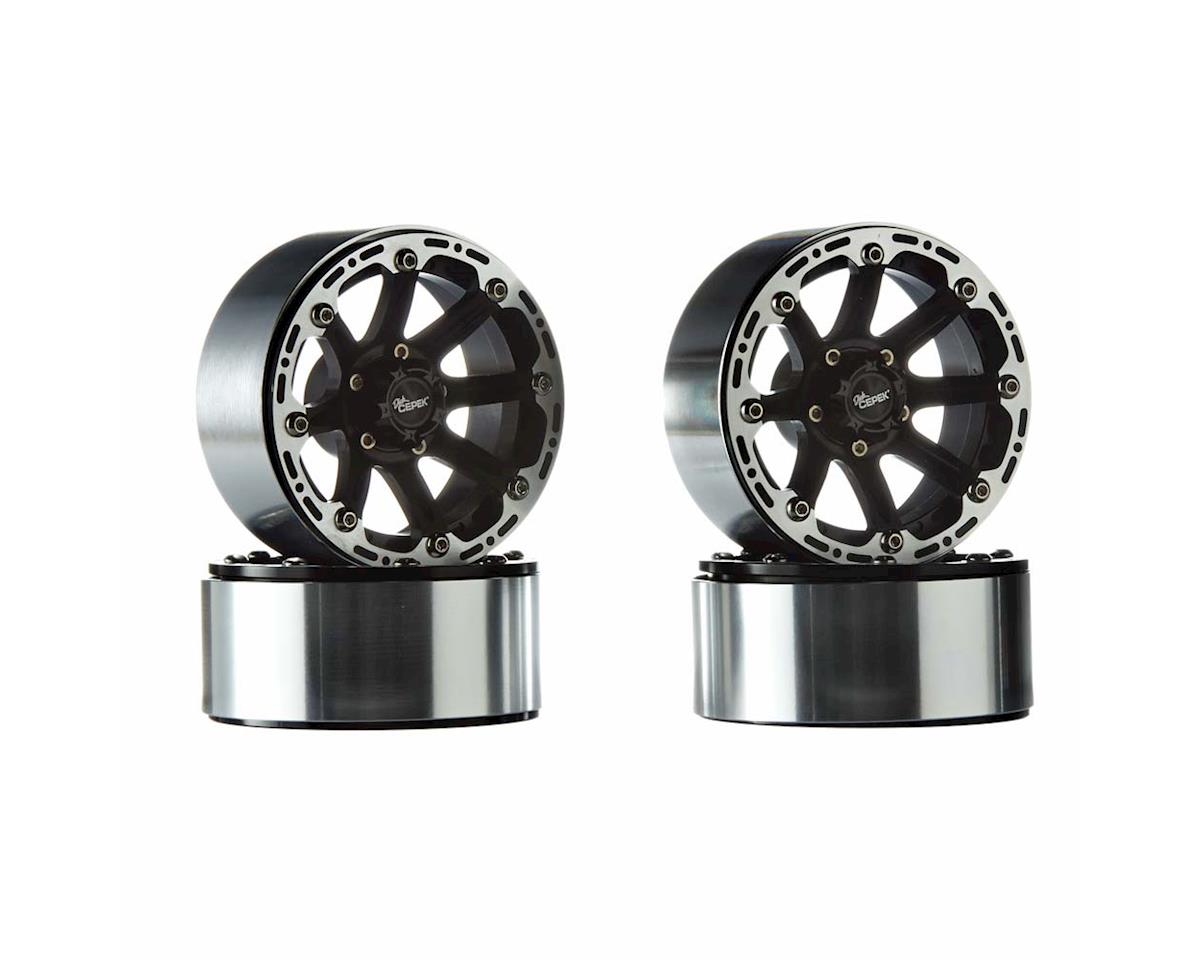 "Dick Cepek Torque 2.2"" Internal Beadlock Wheels (Black) (4) by RC4WD"