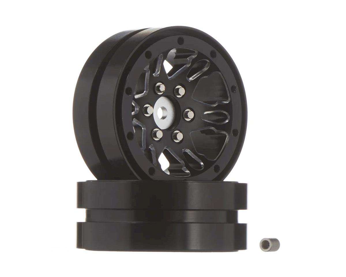 RC4WD Universal 1.9 Beadlock Wheel (D1) (Black) (2)