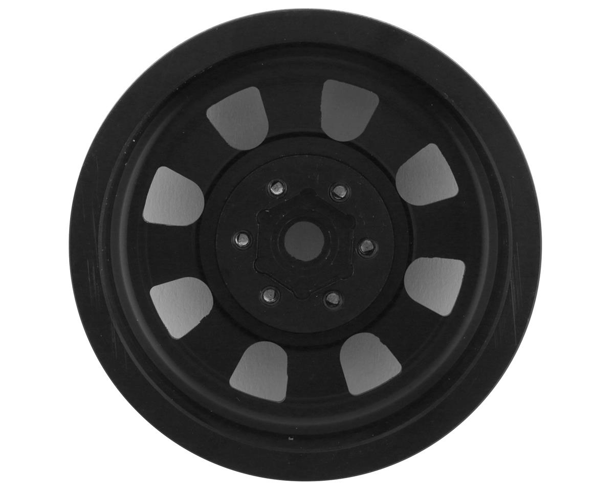 "RC4WD Raceline Monster 2.2"" Aluminum Beadlock Rock Crawler Wheels (4) (Black)"