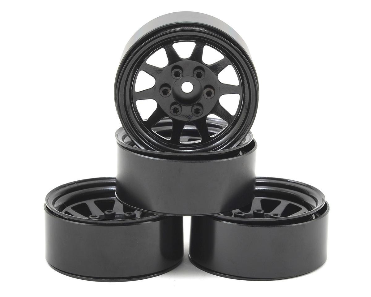 RC4WD OEM Stamped Steel 1.9 Beadlock Wheel (Black) (4)