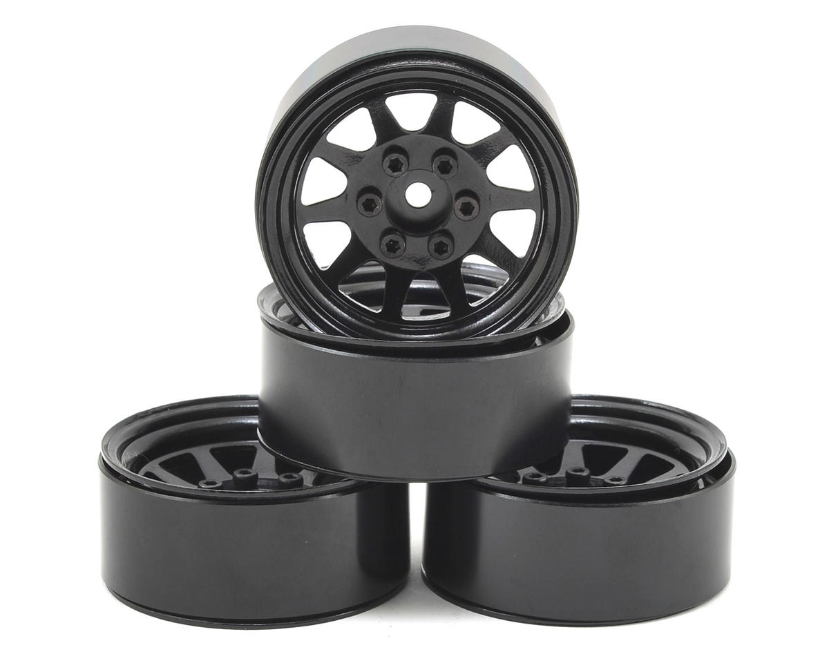 OEM Stamped Steel 1.9 Beadlock Wheel (Black) (4) by RC4WD